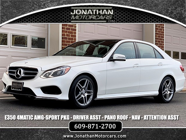 Used 2015 Mercedes-Benz E-Class E 350 4MATIC Sport | Edgewater Park, NJ