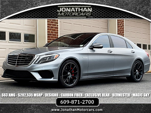 Used 2017 Mercedes-Benz S-Class AMG S 63 | Edgewater Park, NJ
