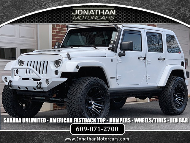Jeep Dealers Nj >> 2014 Jeep Wrangler Unlimited Sahara Stock 209973 For Sale