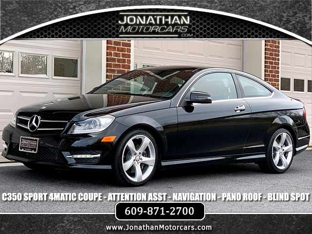 Used 2015 Mercedes-Benz C-Class C 350 4MATIC Coupe Sport | Edgewater Park, NJ
