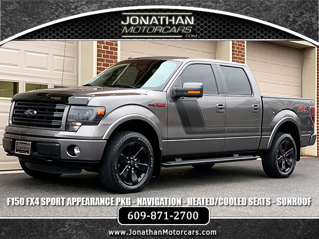 Fx4 For Sale >> 2014 Ford F 150 Fx4 Appearance Package Stock C44611 For