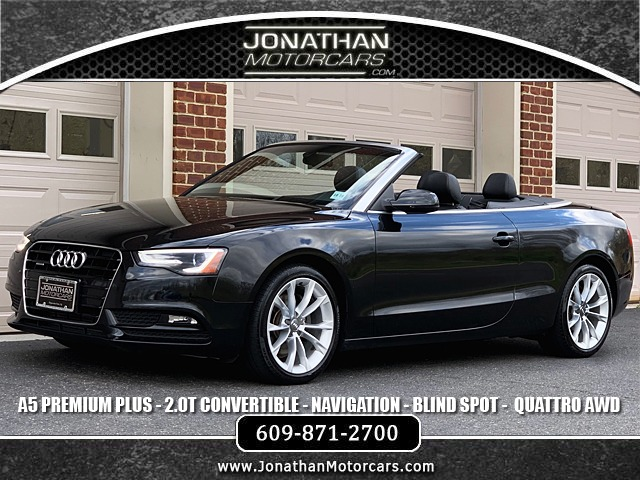 Used 2014 Audi A5 2.0T quattro Premium Plus Convertible | Edgewater Park, NJ