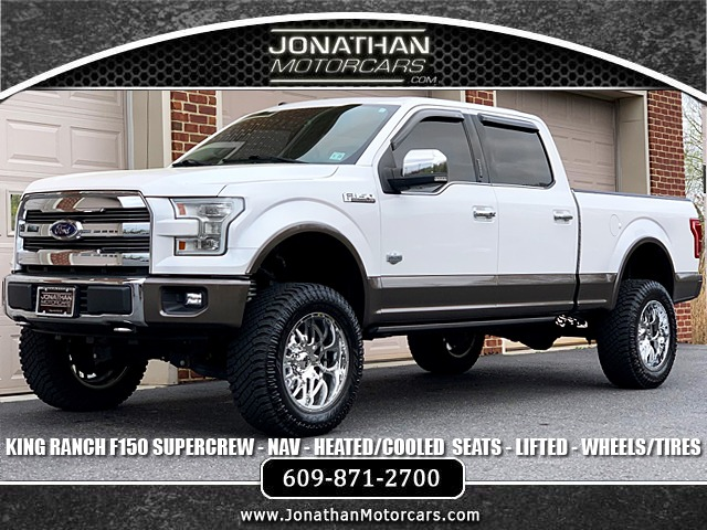 2016 Ford F150 Lifted >> 2016 Ford F 150 King Ranch Stock A81363 For Sale Near