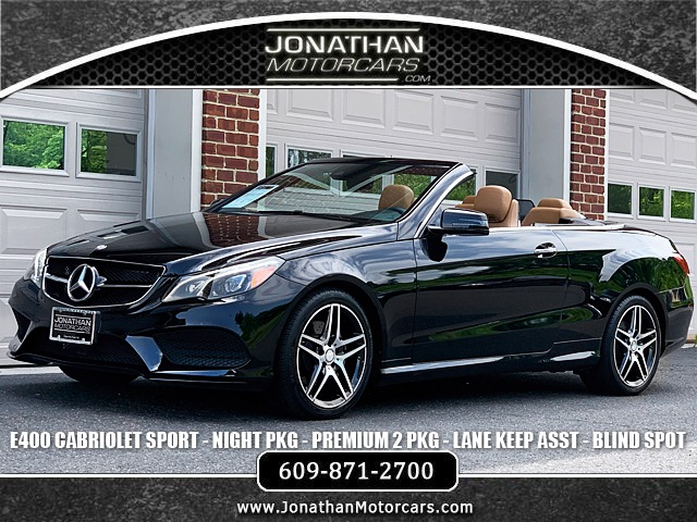 Used 2017 Mercedes-Benz E-Class E 400 Convertible AMG-Sport | Edgewater Park, NJ