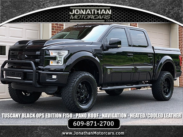 2016 Ford F 150 Lariat Tuscany Black Ops Edition Stock