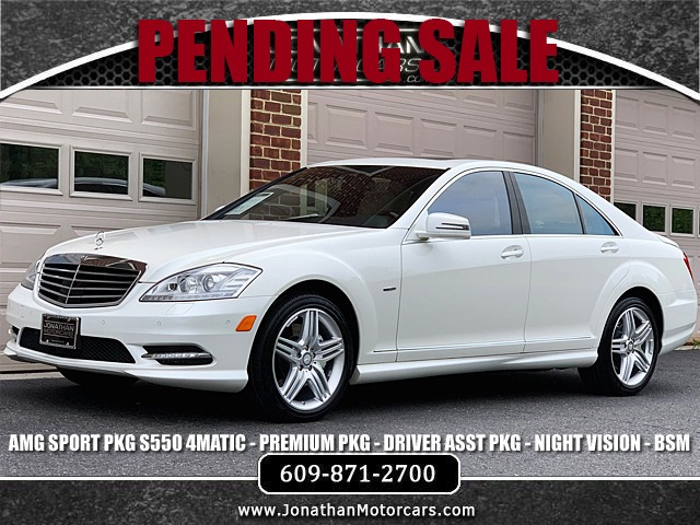 Used 2012 Mercedes-Benz S550 4Matic Sport | Edgewater Park, NJ