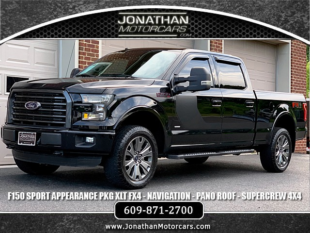 Used 2016 Ford F-150 XLT FX4 Sport Appearance Package | Edgewater Park, NJ