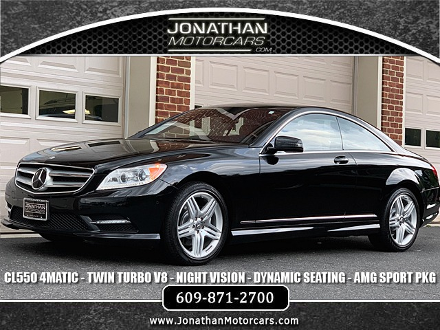 Used 2013 Mercedes-Benz CL-Class CL 550 4MATIC Sport | Edgewater Park, NJ