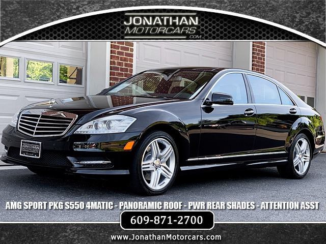 Used 2013 Mercedes-Benz S-Class S 550 4MATIC Sport | Edgewater Park, NJ