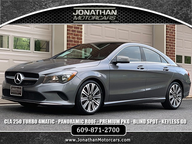 Used 2018 Mercedes-Benz CLA CLA 250 4MATIC | Edgewater Park, NJ