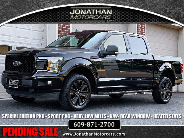 Used F 150 >> 2019 Ford F 150 Xlt Special Edition Sport Stock B52446 For