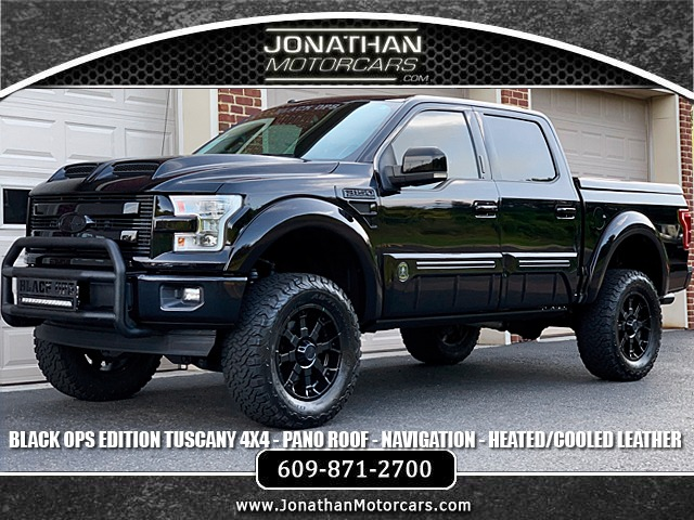 2017 Ford F 150 Lariat Tuscany Black Ops Stock A13304 For