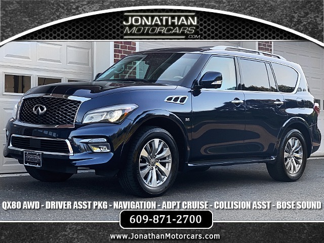 Used 2016 INFINITI QX80 AWD-Navigation-Drivers Asst Package | Edgewater Park, NJ