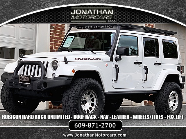 Used 2016 Jeep Wrangler Unlimited Rubicon Hard Rock | Edgewater Park, NJ