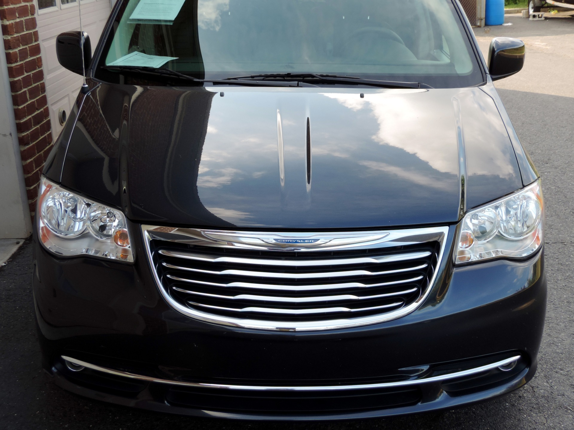 2014 chrysler town and country touring rear dvd leather 3rd row stock 229453 for sale. Black Bedroom Furniture Sets. Home Design Ideas
