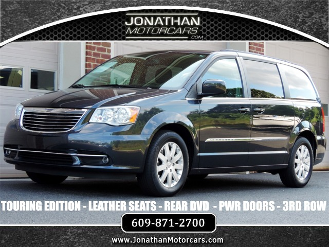 Town And Country Touring Rd Row Dvd