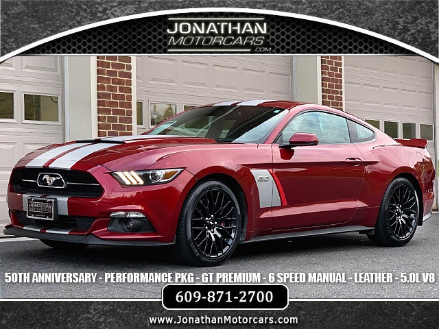 Used 2015 Ford Mustang GT Premium 50th Anniversary Performance Package | Edgewater Park, NJ