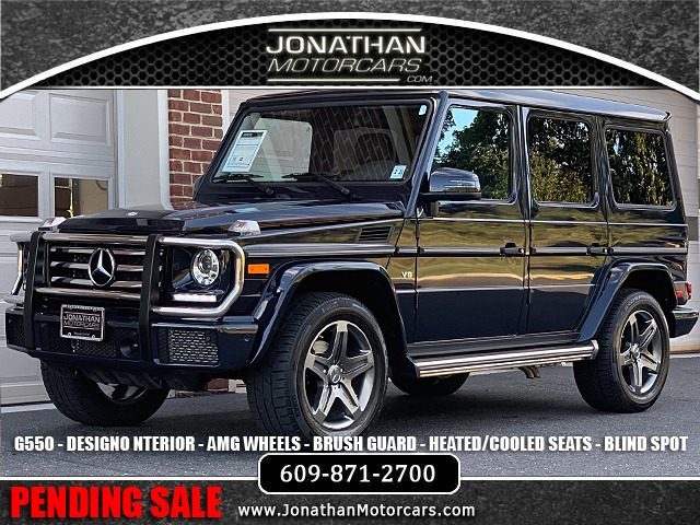 Used 2016 Mercedes-Benz G-Class G 550 Designo | Edgewater Park, NJ