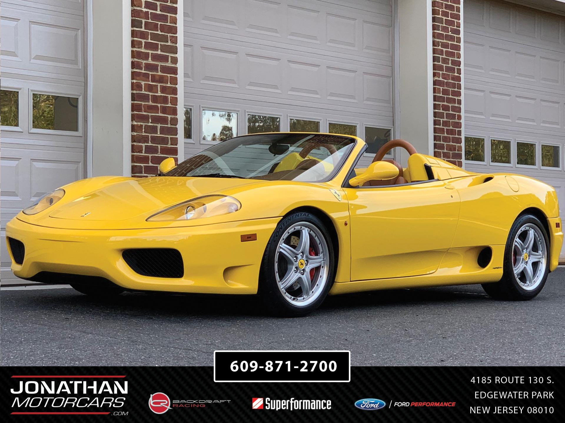 Used 2002 Ferrari 360 Spider    Edgewater Park, NJ