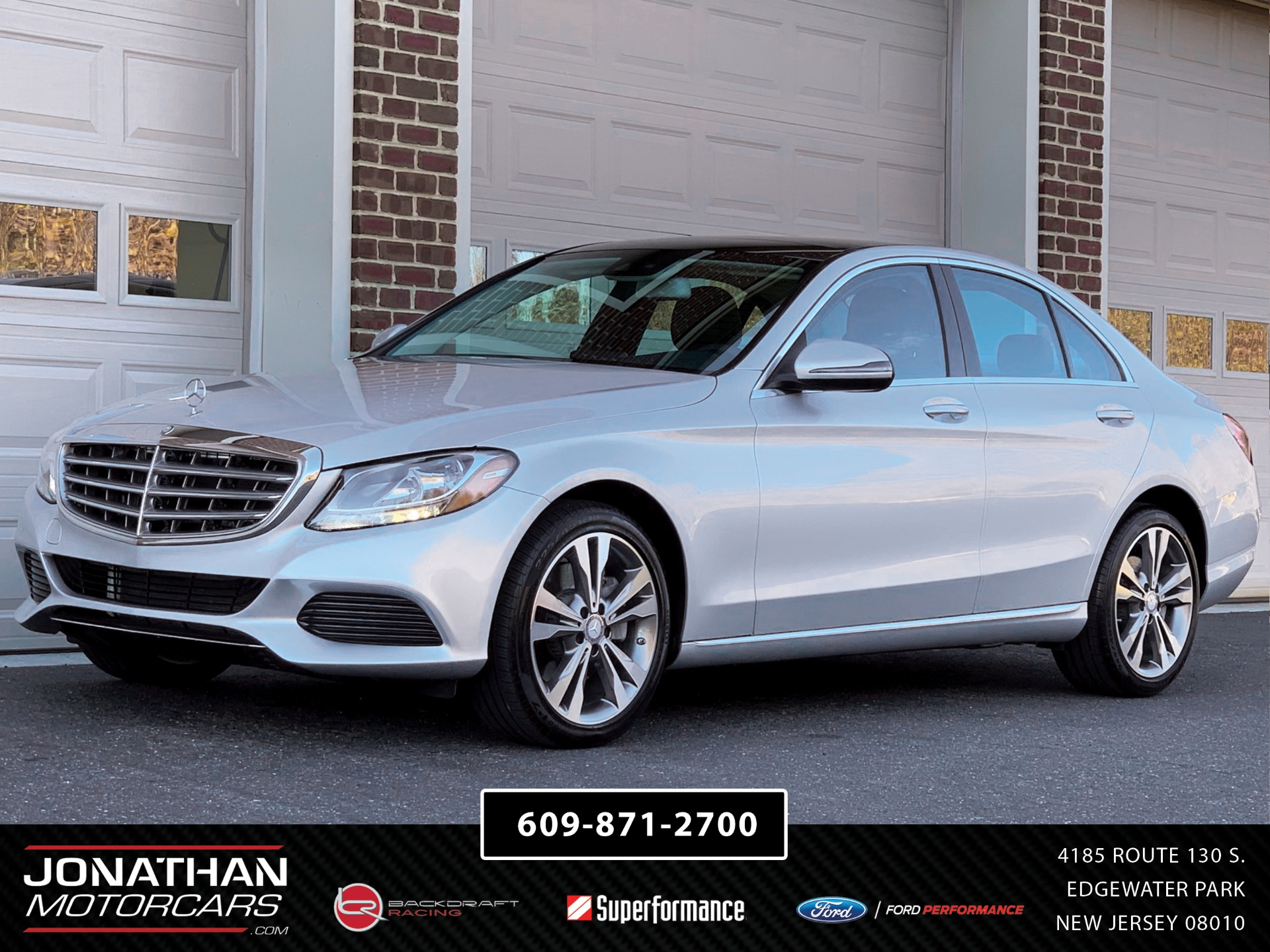Used 2016 Mercedes-Benz C-Class C 300 4MATIC | Edgewater Park, NJ