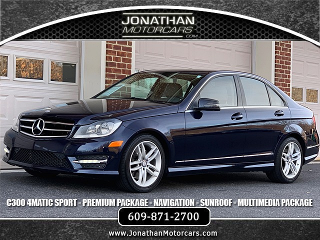 Used 2014 Mercedes-Benz C-Class C 300 Sport 4MATIC | Edgewater Park, NJ