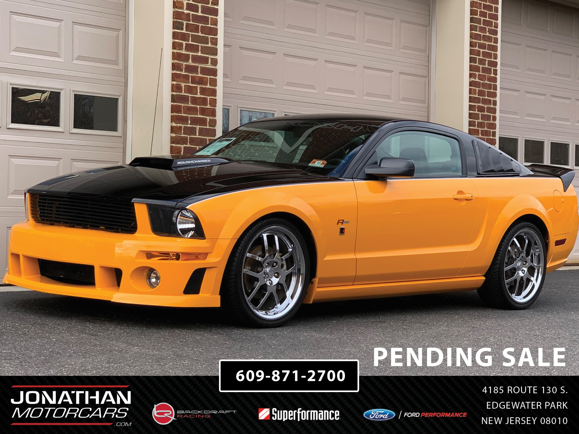 Used 2009 Ford Mustang GT ROUSH R/C RTC STAGE 3 | Edgewater Park, NJ