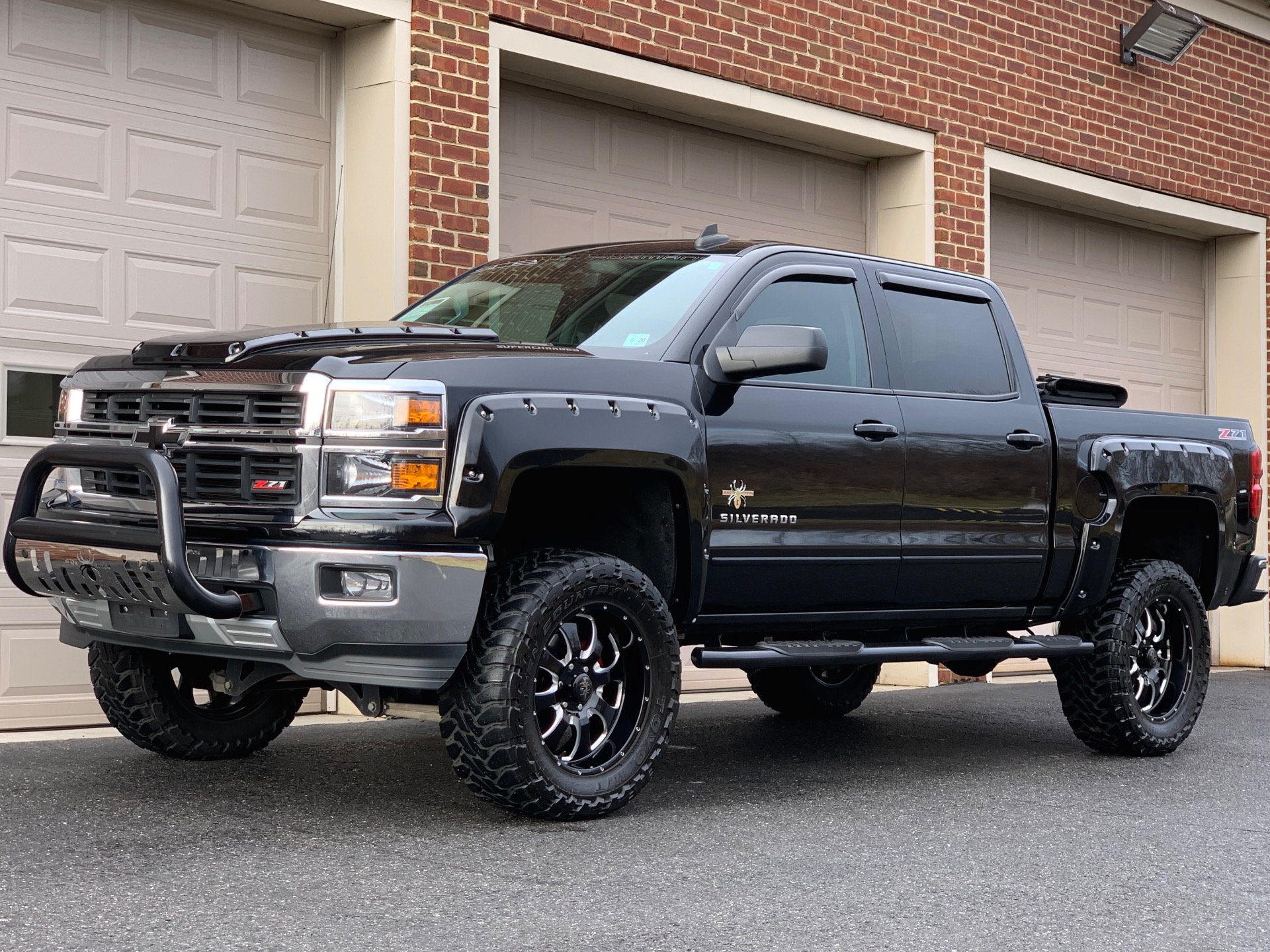 Used-2015-Chevrolet-Silverado-1500-Southern-Comfort-Black-Widow-Edition-Z71