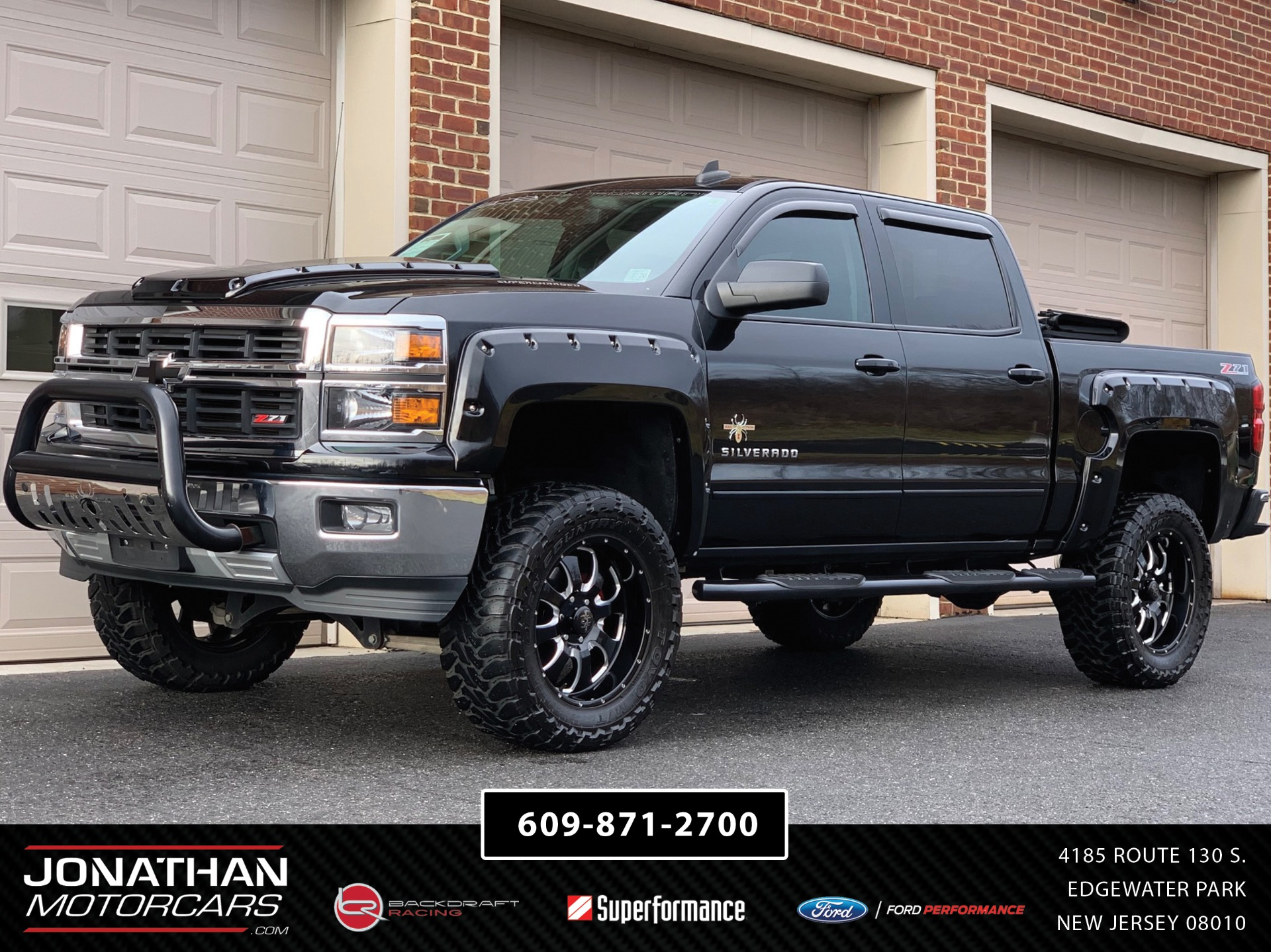 Used 2015 Chevrolet Silverado 1500 Southern Comfort Black Widow Edition Z71 | Edgewater Park, NJ